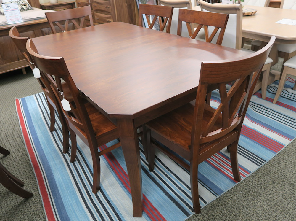 Austin table set dutch haus custom furniture sarasota florida - Dining room sets austin tx ...